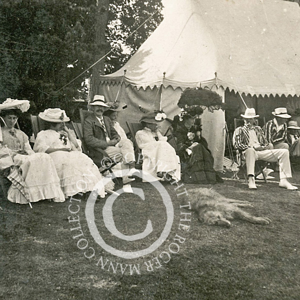 Lord Harris entertains the West Indians at Belmont in 1923